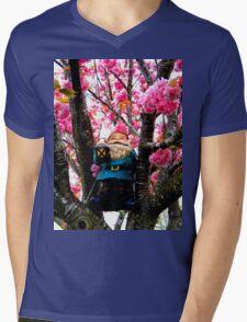 Sakura Climber Gnome Mens V-Neck T-Shirt