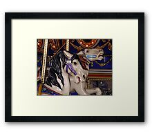 The Ponies Framed Print