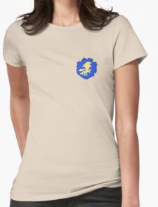 Cutie mark crusaders badge: Left Womens Fitted T-Shirt