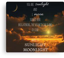 Miss Saigon - Sun and Moon Canvas Print
