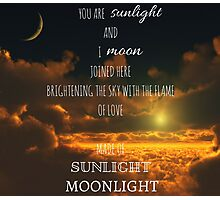 Miss Saigon - Sun and Moon Photographic Print