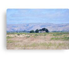 San Joaquin Valley Landscape Canvas Print