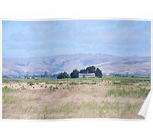 San Joaquin Valley Landscape Poster