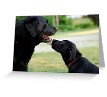 Kisses for Cole Greeting Card