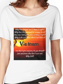 Miss Saigon - WHY GOD WHY Women's Relaxed Fit T-Shirt