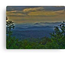 Great Smoky Morning HDR  Canvas Print