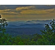 Great Smoky Morning HDR  Photographic Print