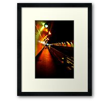 Stockton Street Tunnel Framed Print