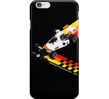 Shadow Racing Team 1975 - DN6 w/White Lettering iPhone Case/Skin