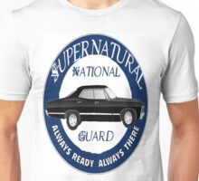 Supernatural National Guard - Impala Shirt Unisex T-Shirt