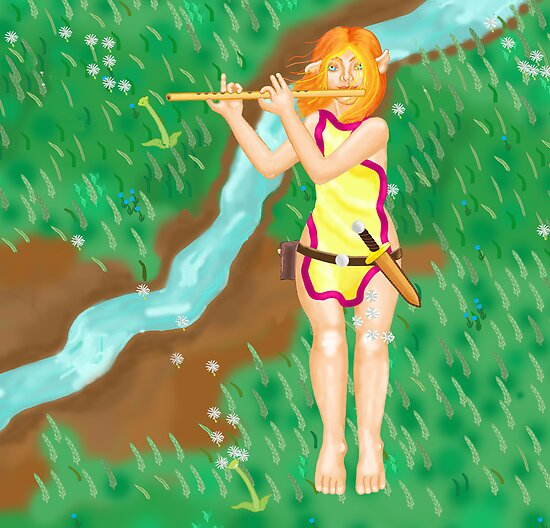 I Play for the Wind by mordechai
