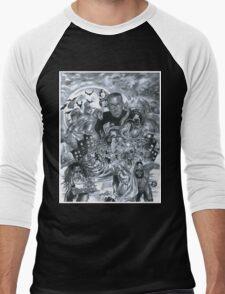 Hopsin - Taking over the Industry Men's Baseball ¾ T-Shirt