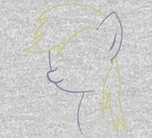 Derpy Hooves Outline by LcPsycho