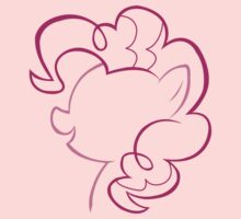 Pinkie Pie Outline
