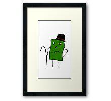 Mr. Money Framed Print