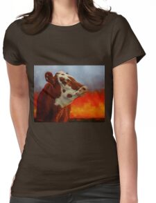 Eye Of The Firestorm Womens Fitted T-Shirt