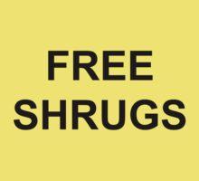 Free Shrugs Baby Tee