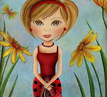 Little Miss Ladybug by Kristy Spring-Brown