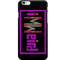im weird vert iPhone Case/Skin