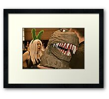 Creature Knows Framed Print
