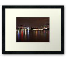 Goodwill Bridge  Framed Print