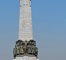 Belgian National Infantry Memorial, Brussels by Margaret  Hyde