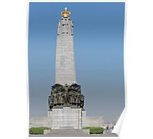 Belgian National Infantry Memorial, Brussels Poster