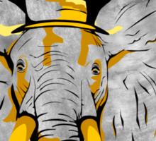 Elegant elephant 2 Sticker