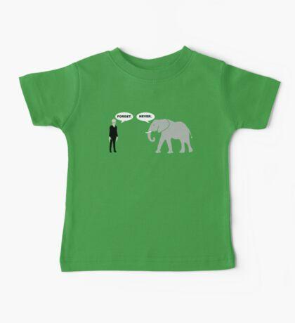 Silence vs. Elephant Baby Tee