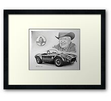 Carroll Shelby  Framed Print