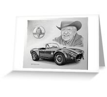 Carroll Shelby  Greeting Card