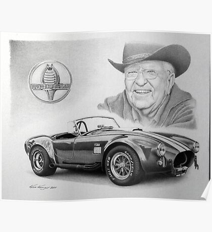 Carroll Shelby  Poster