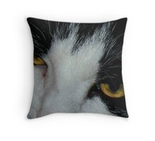 Sabrina's Eyes Throw Pillow