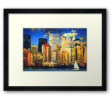 New York City II - Manhattan Framed Print