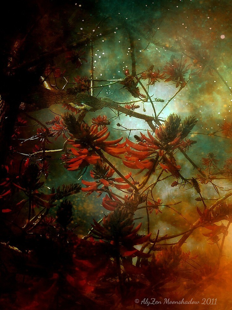 Coral Tree in Space by AlyZen