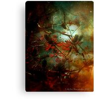 Coral Tree in Space Canvas Print