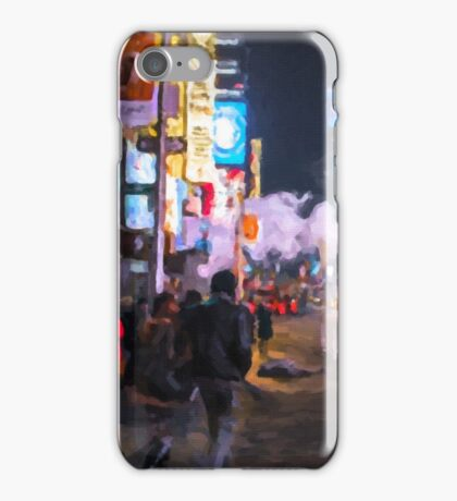 Only go out at night - Broadway iPhone Case/Skin