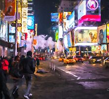 Only go out at night - Broadway by Chris Armytage™