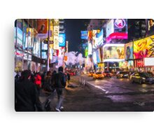 Only go out at night - Broadway Canvas Print