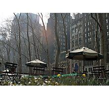 Bryant Park, New York Photographic Print