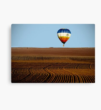Over The Land Canvas Print