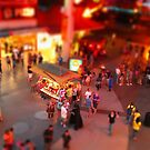Fremont Street Miniature by Angela Pritchard