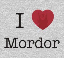 I LOVE MORDOR Kids Clothes