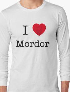 I LOVE MORDOR Long Sleeve T-Shirt