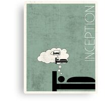 Inception Minimal Canvas Print