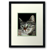 Think Happy Thoughts Framed Print