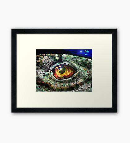 I Reptile Framed Print