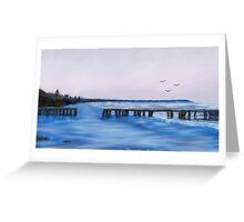 Beach Blues Greeting Card