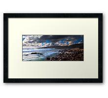 Moses Rock Framed Print