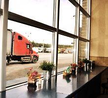 Truck stop by Valeriy  Pisanov